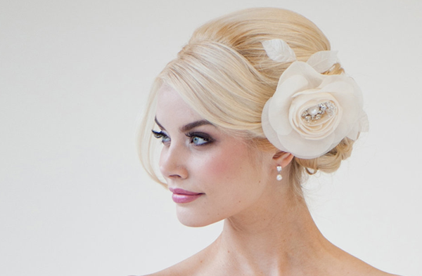 2013 Western Bridal Hairstyles chignon