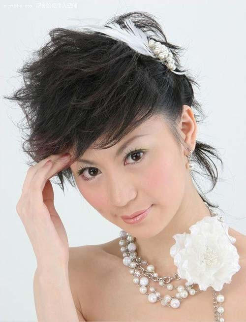 Asian Short Hair For Bridals