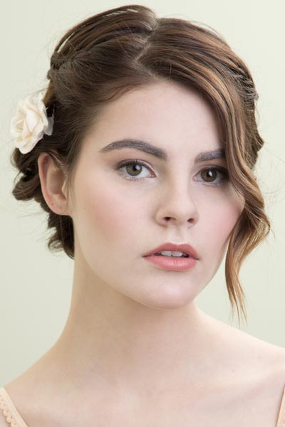 Bridal Hair Style For Short Hair