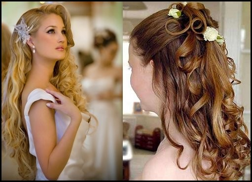 Bridal Styliah Hairstyles For Long Hair