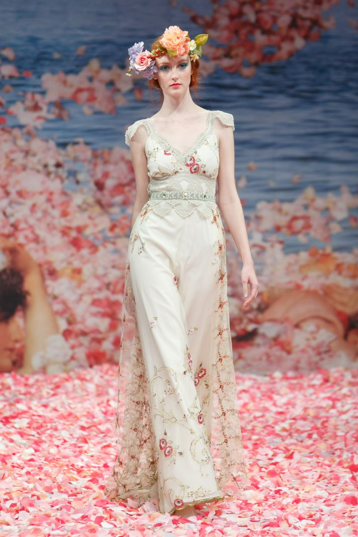 Claire Pettibone bridal wedding gown an earthly paradise bridal collection (19)