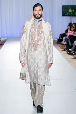 Grom Collection At London Fashion Week By  Rana Noman
