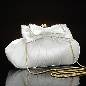 Ivory Bridal Purse Beautiful Gown