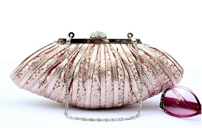 Pink bridal purses wedding apparel