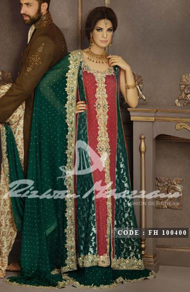 Rizwan Moazzam Bridal Dresses collection 2013  2