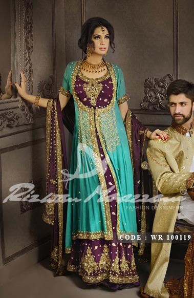Rizwan Moazzam Bridal Dresses collection 2013