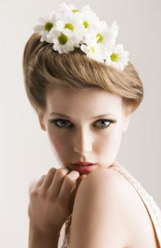 Updo Hairstyle For Bridal 2013