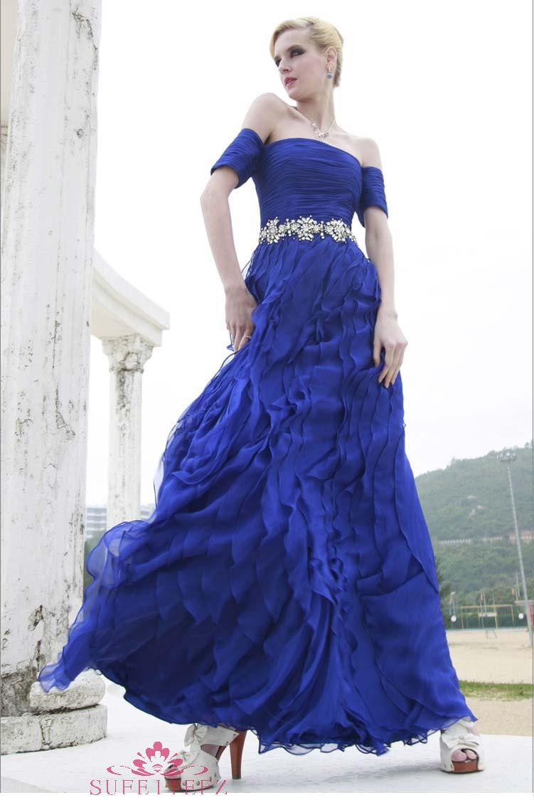 blue wedding dress 2013