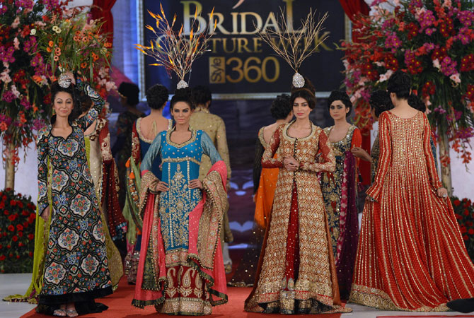 360 Bridal Couture Week Fashion Lahore Pakistan Wedding