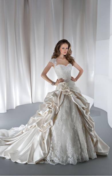 Anjolique white Bridal Gowns