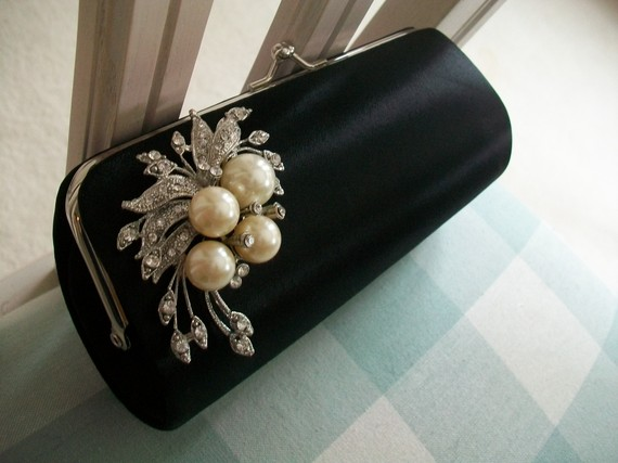 Black Clutches For Wedding