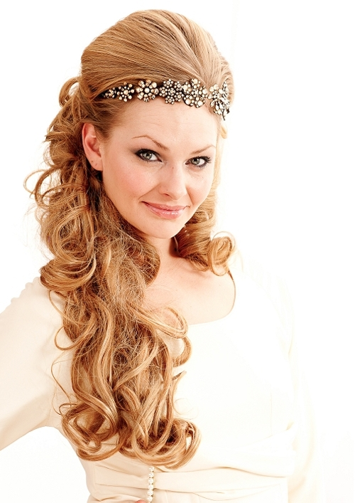 Bridal Hairstyle For  Long Hairs