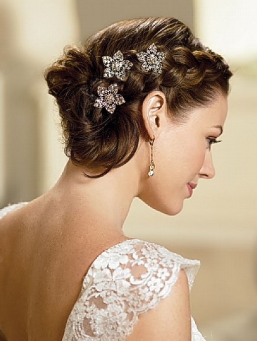 Brides Wedding Updos Hairstyles