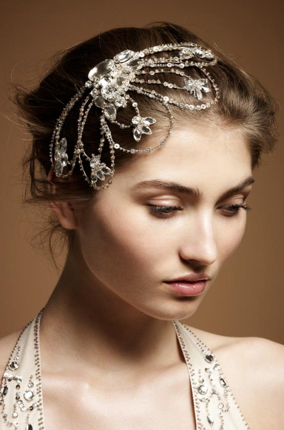 Fower Headpieces Bridal Hairstyles