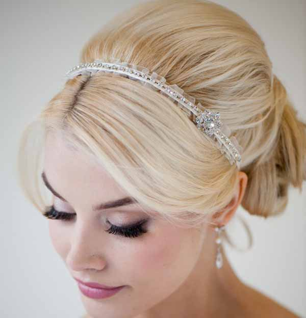 Headpieces Bridal Hairstyles Ideas