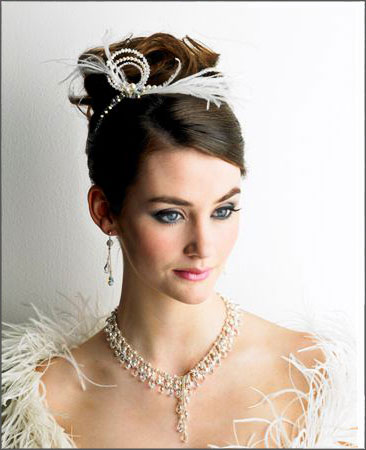 Headpieces Bridal Hairstyles tiara