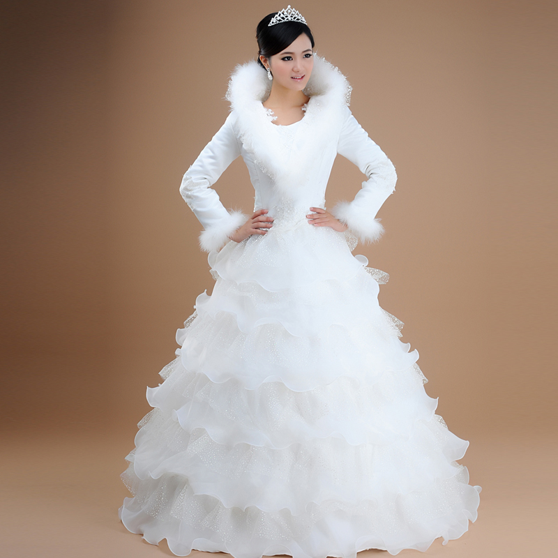 Images Of Winter Wedding Dress