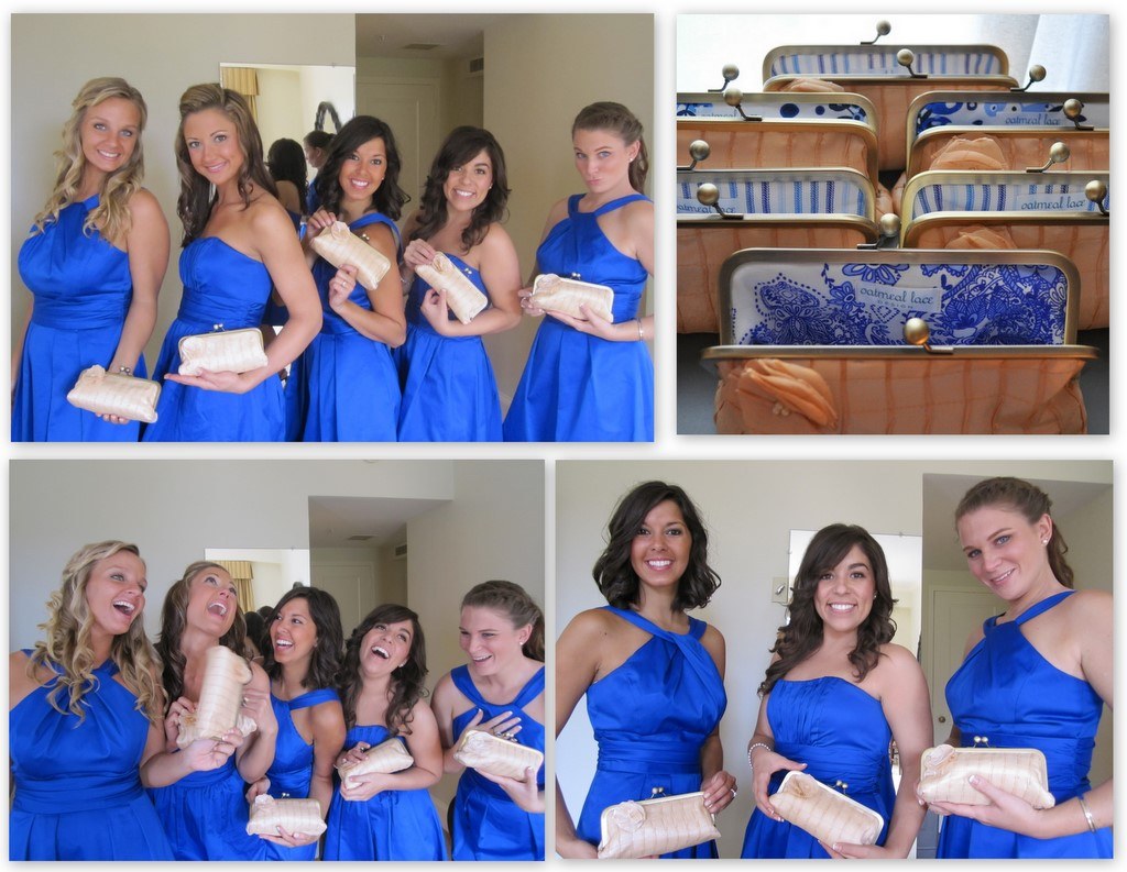 Kate Sauerwein Bridesmaid Clutches