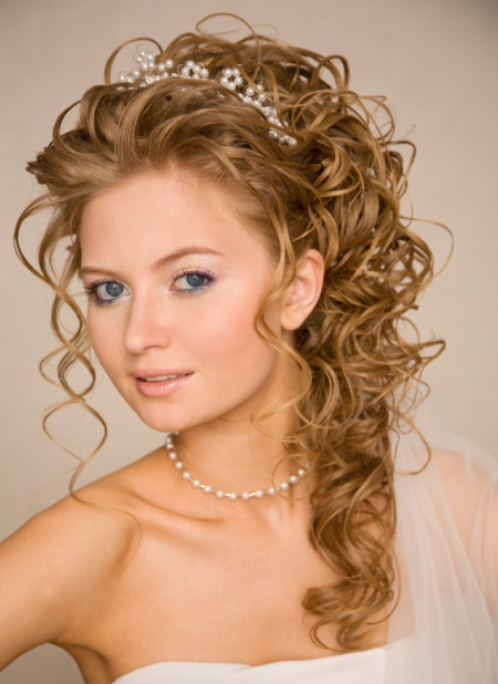 Long Half Up Wedding Hairstyles