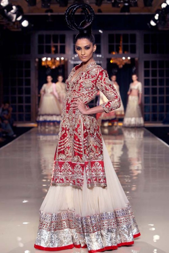 Manish Malhotra Bridal Frocks (4)