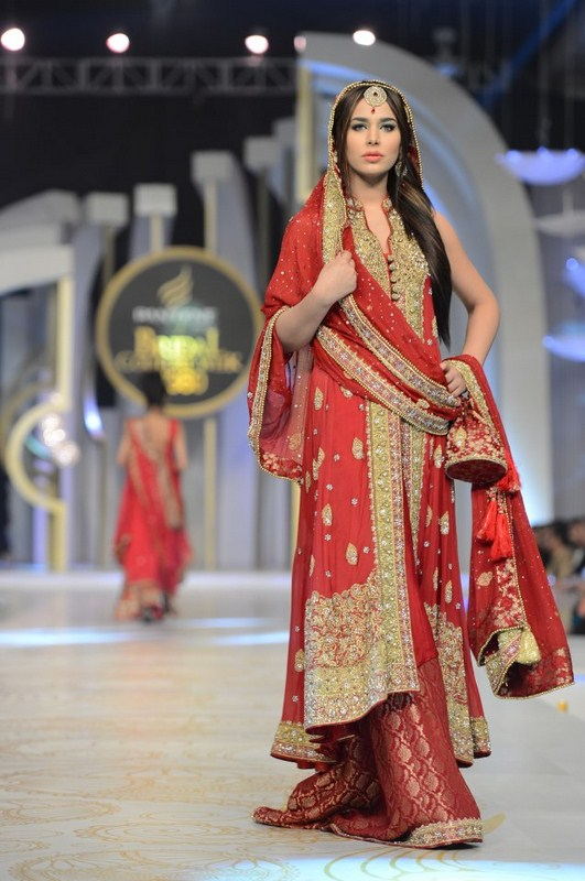 Pantene Bridal Couture Week 2013 Mifrah Bridal Collection