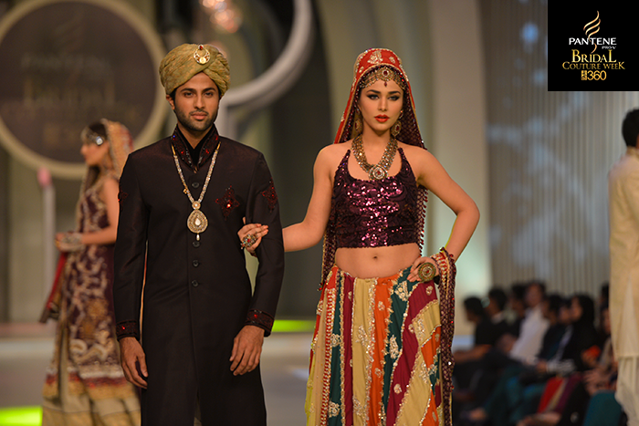 Pantene Bridal Couture week 2013-Mona Imran (3)
