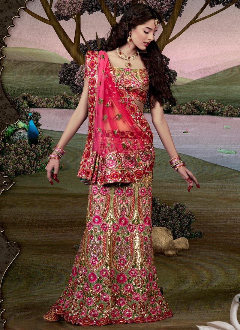Patch Work Lehenga Collection (7)