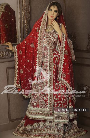 Rizwan Moazzam Bridal Dresses collection 2013  3