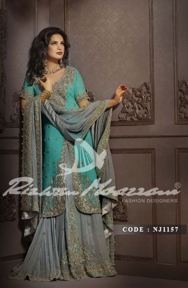 Rizwan Moazzam Bridal Dresses collection 2013  5