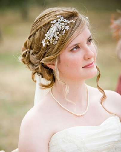 Wedding Hair Style For Short Hair 1