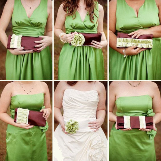 custom clutches bridesmaid