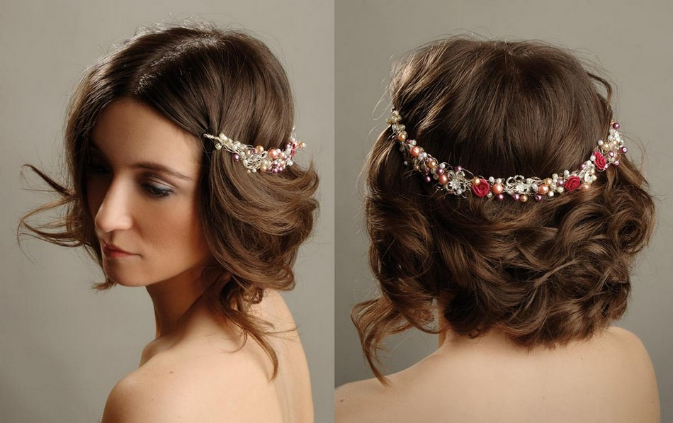 latest hair styles for Bridal
